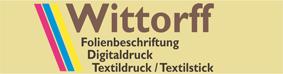 Folienbeschriftung Wittorff